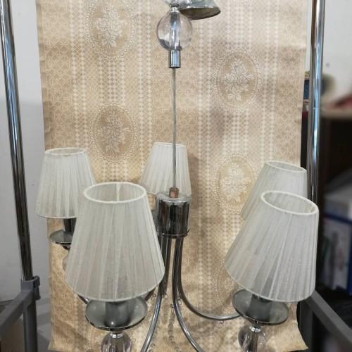 5 lempų šviestuvas